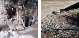 En Filadelfia realizaban Explotación subterránea de oro aluvial sin los permisos para respaldar la actividad