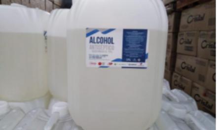 ILC produjo 96 mil litros de alcohol glicerinado en convenio de cooperación con empresa Esenttia, del grupo Ecopetrol