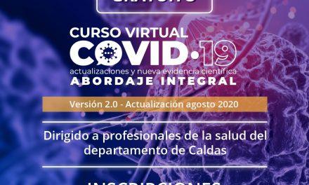 Telesalud lanza curso virtual sobre Abordaje Integral de COVID-19 versión 2.0, con actualizaciones y evidencias científicas