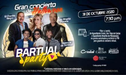 ILC INVITA A CELEBRAR EL HALLOWEEN DE MANERA SEGURA CON EL CONCIERTO VIRTUAL BARTUAL PARTY