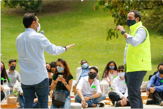 Consejero Presidencial para la Juventud anunció 500 cupos virtuales del programa Sacúdete para jóvenes de Manizales