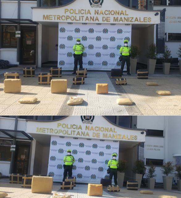 """""""SOMOS UNO SOMOS TODOS"""" GOLPES CONTUNDENTES AL TRÁFICO DE ESTUPEFACIENTES.  200 KILOS DE MARIHUANA FUERA DE CIRCULACIÓN"""