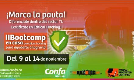 Confa realiza Bootcamp en casa de Seguridad Informática.