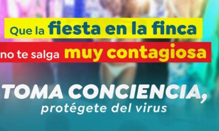 TOMA CONCIENCIA MENSAJE  DE LA GOBERNACION DE CALDAS