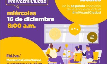 Mañana: presentación de los resultados locales de la 2da medición de  #miVozmiCiudad