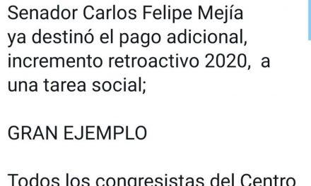 Entregamos el Incremento Retroactivo del Año 2020-