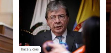Declaración del Presidente Iván Duque Márquez tras el fallecimiento del Ministro de Defensa Nacional, Carlos Holmes Trujillo