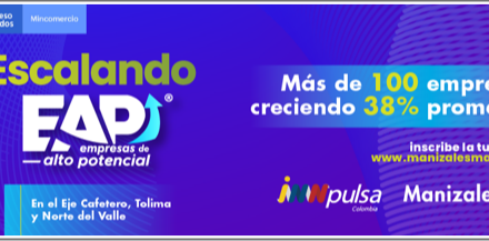 La convocatoria para que empresas de: Tolima, Norte del Valle del Cauca y el Eje Cafetero escalen y crezcan está abierta.