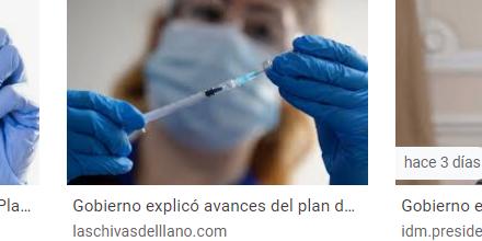 Gobierno explicó avances del plan de alistamiento para vacunación por covid-19