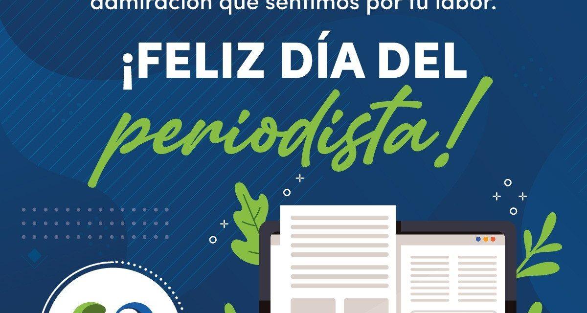 Feliz Día del Periodista