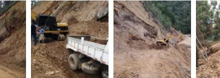 Explotación ilícita de material en una cantera ubicada en zona rural de Riosucio generó impactos negativos al medio ambiente