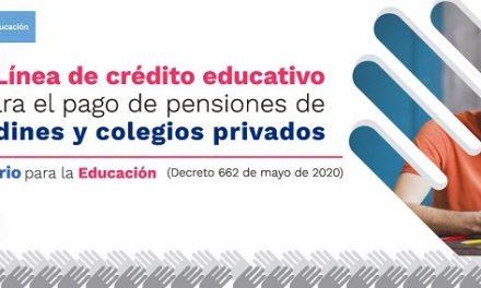 :: Avances de la Convocatoria 2021 de la Línea de crédito para el pago de pensiones de jardines y colegios privados ::