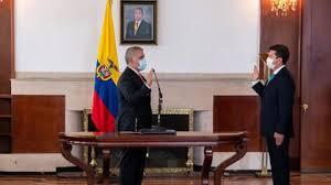 Presidente Duque posesiona este sábado al nuevo Ministro de Defensa, Diego Molano