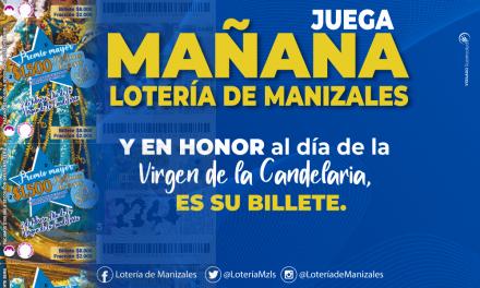 PUBLICIDAD DE LA LOTERIA DE MANIZALES