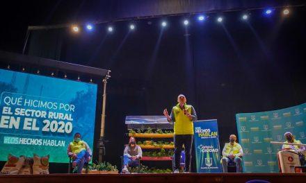 Alcaldía de Manizales invirtió $ 4.041 millones en el campo durante el 2020, suma histórica en la historia de la Administración