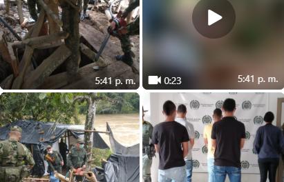 Ejército en Caldas captura cinco sujetos por explotación ilícita de yacimientos mineros ·El trabajo diario de los soldados ha permitido, en lo que va corrido del año, la captura de 43 sujetos, por este mismo delito.