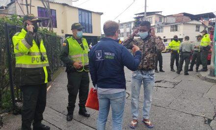 Secretaría de Gobierno y Policía realizaron operativos de seguridad en la Comuna La Fuente de Manizales