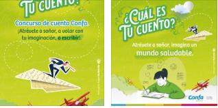 Confa promueve la escritura a través del concurso de cuento,
