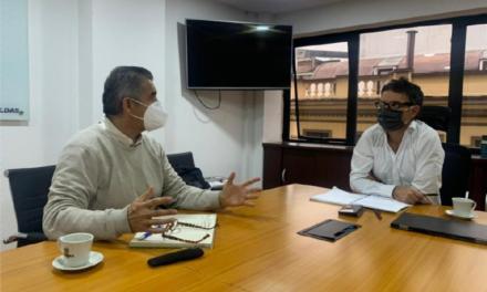 RAP Eje Cafetero se reúne en Manizales con el nuevo gerente de Inficaldas, Juan Martín Zuluaga Tobón.