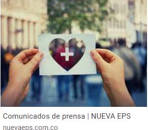 NUEVA EPS recuerda a sus afiliados los aspectos a tener en cuenta para la reprogramación de segundas dosis contra COVID – 19