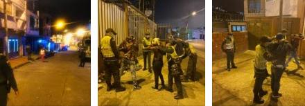 Balance del Toque de queda en Manizales y Villamaria  123 personas no acataron las medidas durante el fin de semana