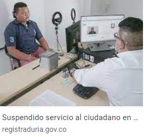 Registraduría Nacional del Estado Civil anuncia trámites virtuales ante cierre temporal de varias sedes en Caldas