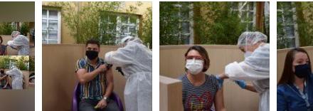 Primera jornada de vacunación contra el COVID-19 en la Universidad Autónoma de Manizales