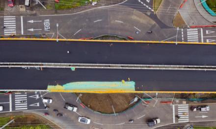 Dos calzadas del Puente Industriales entrarán en funcionamiento este martes 13 de abril