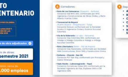 Pacto Bicentenario: Adjudicadas obras de la ruta libertadora