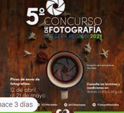 Están abiertas las inscripciones para el 5to Concurso de Fotografía Nuestra Región
