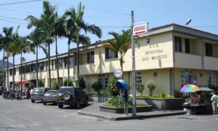 Con pago de servicios, mesa de conciliación de deudas de las EPS y gestiones ante el Gobierno Nacional, la administración departamental apoyará al hospital San Marcos de Chinchiná