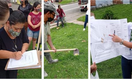 En Samaria se entregó la primera licencia de ocupación de espacio público para una huerta urbana comunitaria