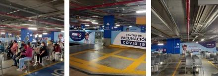 NUEVA EPS habilita nuevo punto de vacunación masiva COVID 19 en el Mall Plaza