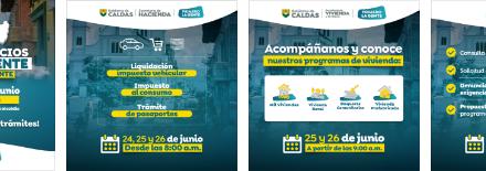 PUBLICIDAD  DE LA GOBERNACION DE CALDAS