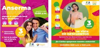 Anserma Despierta y Supía se Viste de Descuentos, la iniciativa comercial que promueve la reactivación económica de la región