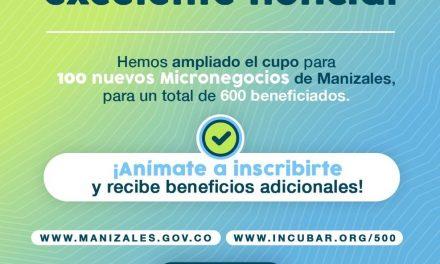 El programa 500 Micronegocios amplió sus cupos para beneficiar a 100 comerciantes más