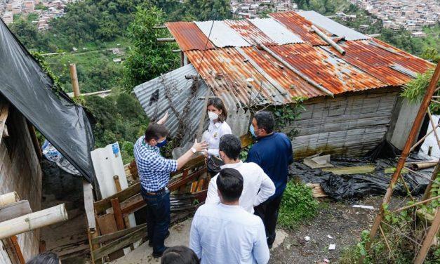 Unidad Nacional de Gestión del Riesgo otorgó $ 20 mil millones a Manizales para obras de mitigación del riesgo