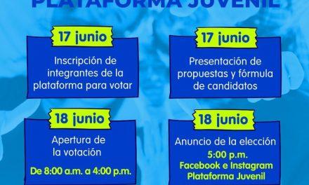 La Plataforma Juvenil de Manizales elige mañana a su nuevo presidente