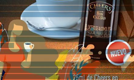 Crema de Ron Viejo de Caldas Cheers renueva su imagen para llegar a más consumidores