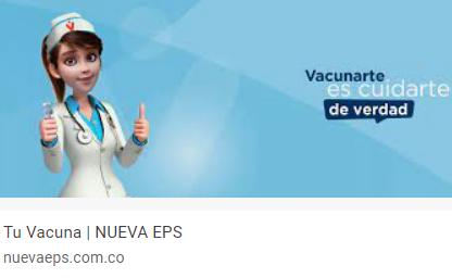 Vacunarte es cuidarte de verdad  Información importante para nuestros usuarios en Bogotá