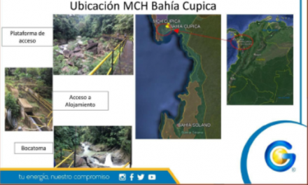 GENSA CONTRATA FIRMA QUE HARÁ ESTUDIO DE GEOTECNICA PARA LA MCH DE BAHÍA CUPICA, CHOCÓ