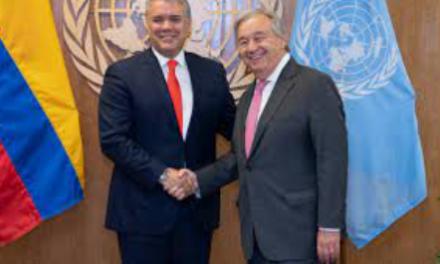 Ex Secretario General de la ONU resalta el liderazgo del Presidente Duque en la lucha contra el cambio climático