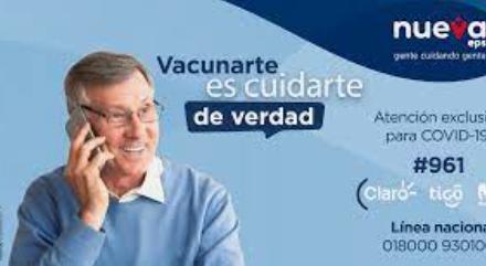 NUEVA EPS – Cápsulas informativas del 09 al 13 de Agosto de 2021