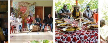 CHEC SOSTUVO ENCUENTRO CON COMUNIDADES ÉTNICAS DEL TERRITORIO PARA CONOCER AVANCES DE SUS PROYECTOS