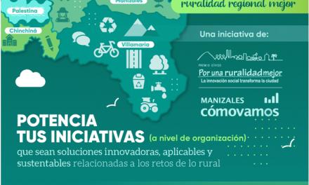 ste viernes cierran las inscripciones al Premio Cívico por una Ruralidad Regional Mejor