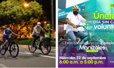 Hoy  se realizarán cuatro caravanas de bicicletas con motivo del Día sin Carro Voluntario 22-IX-2021