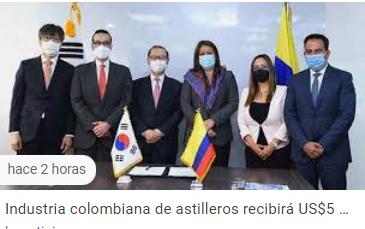 Industria colombiana de astilleros recibirá US$5 millones para acelerar productividad y calidad